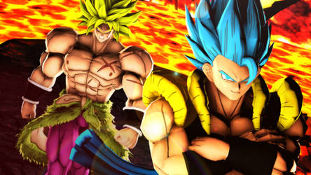 Gogeta and Broly (Poster) by MrTermi988