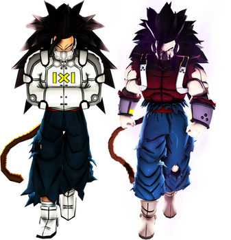 DBXV2 and SDBH-Cumber pack by MrTermi988