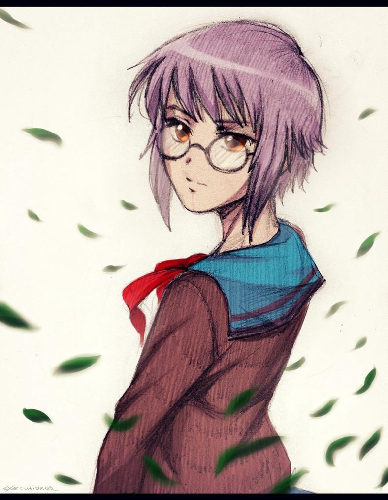 Yuki Nagato by AlexExecutioner666