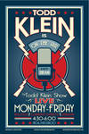 the todd klein show poster