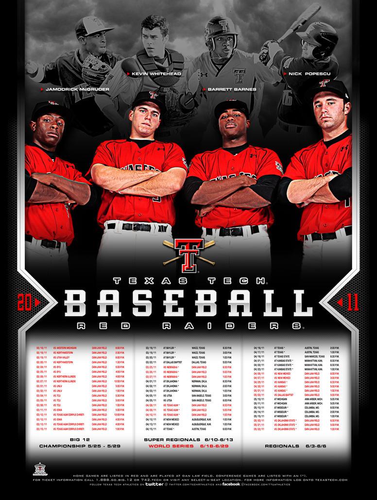 11 ttu baseball poster by Satansgoalie