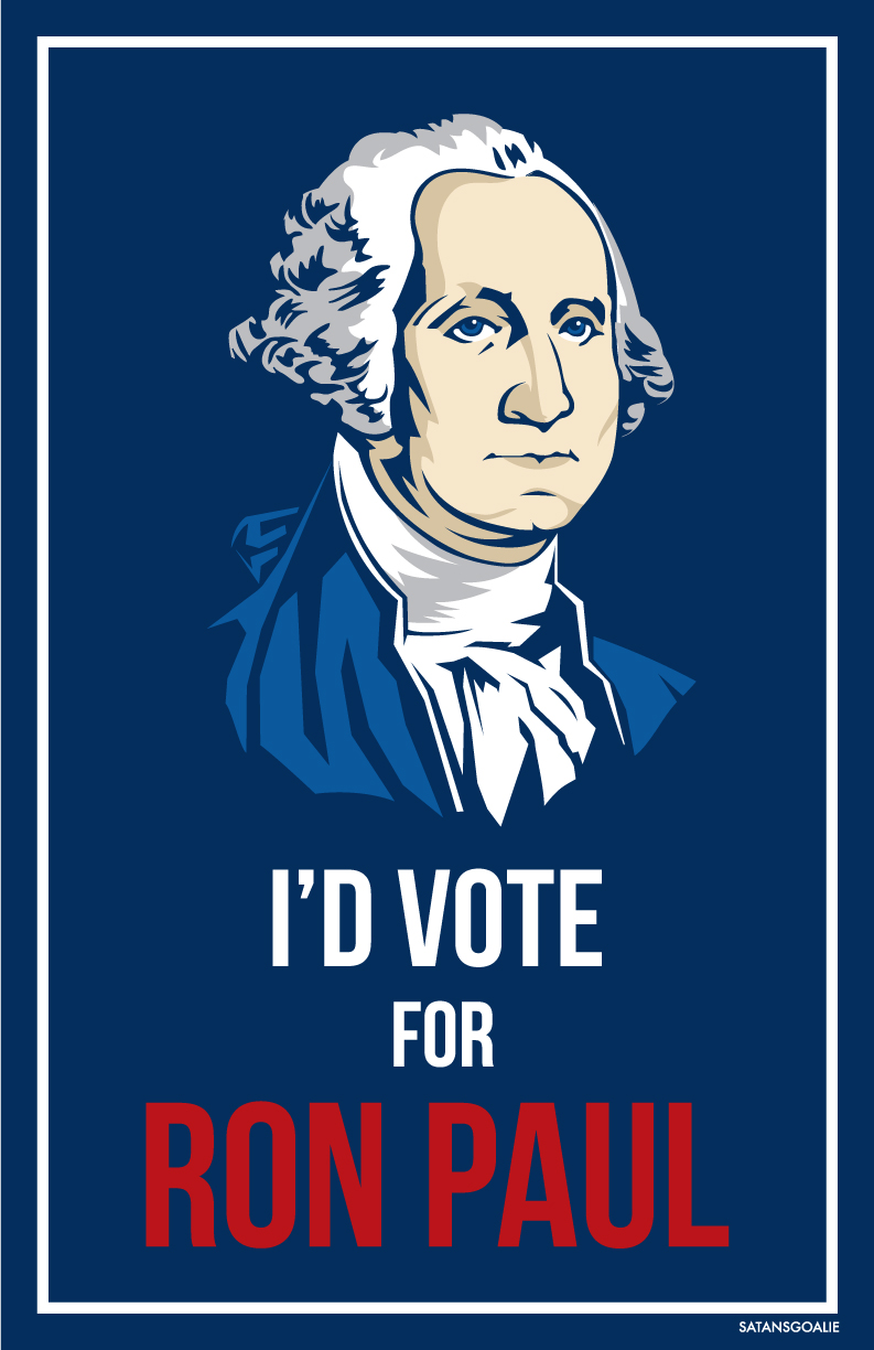i'd vote for ron paul by Satansgoalie