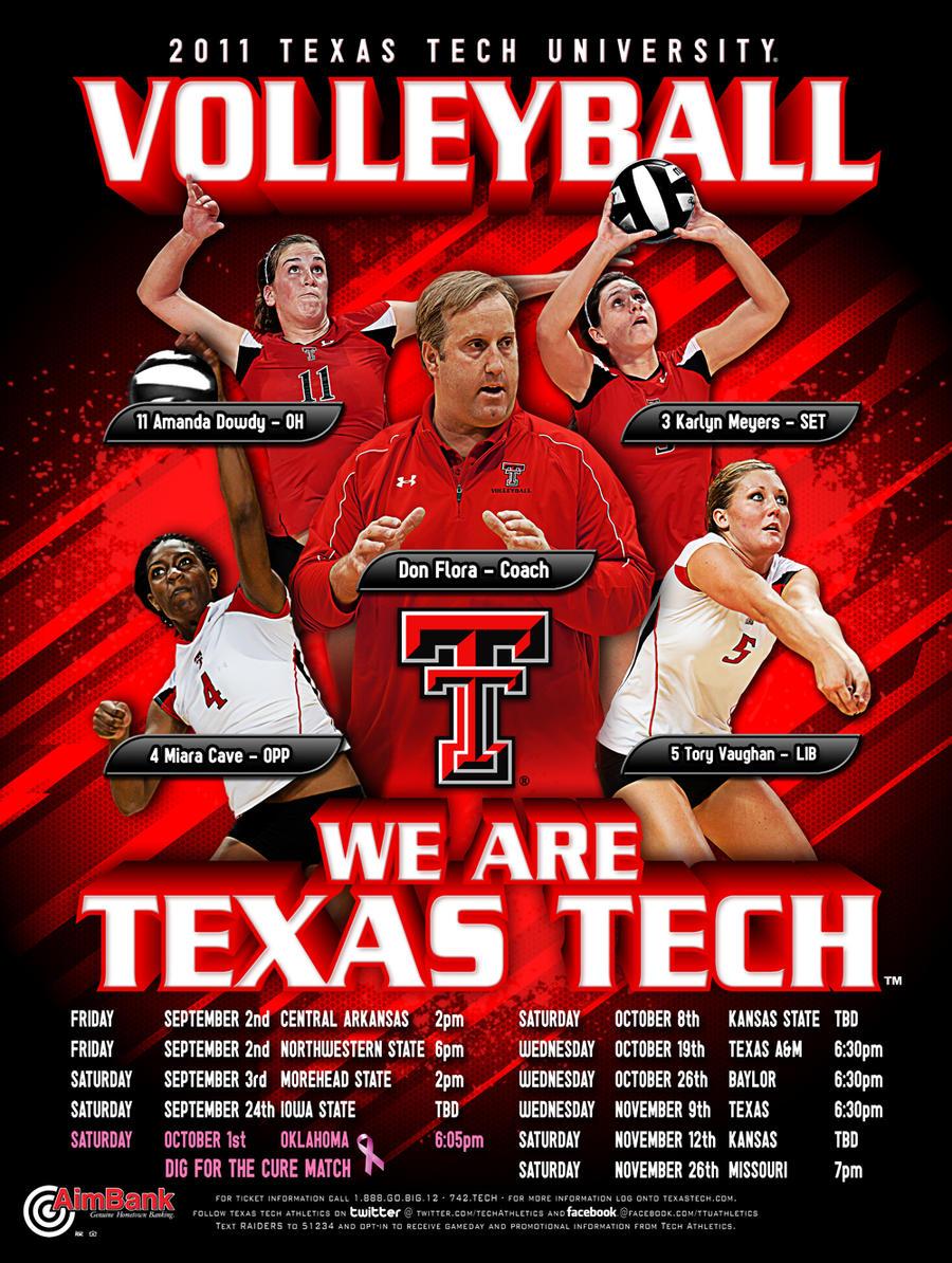 11 ttu volleyball by Satansgoalie