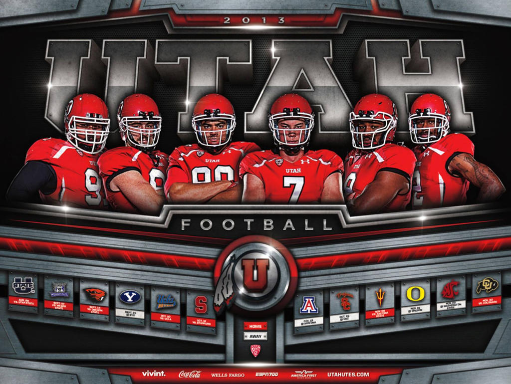 Utah Football Poster By Satansgoalie