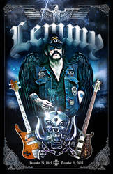 Lemmy by Satansgoalie