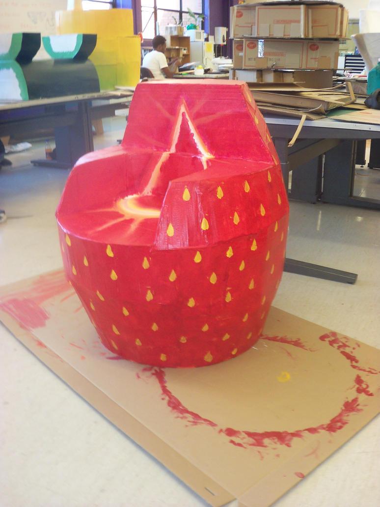 strawberry chair by xXSUZIE-QXx ... & strawberry chair by xXSUZIE-QXx on DeviantArt