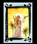 Tarot - The Sun -XIX by MitsukiHayashi
