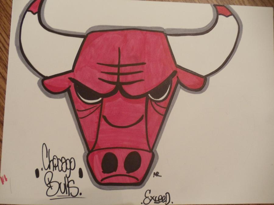 chicago bulls logo by casper21