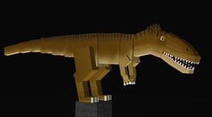 Jurassicraft Style Charcarodontosaurus