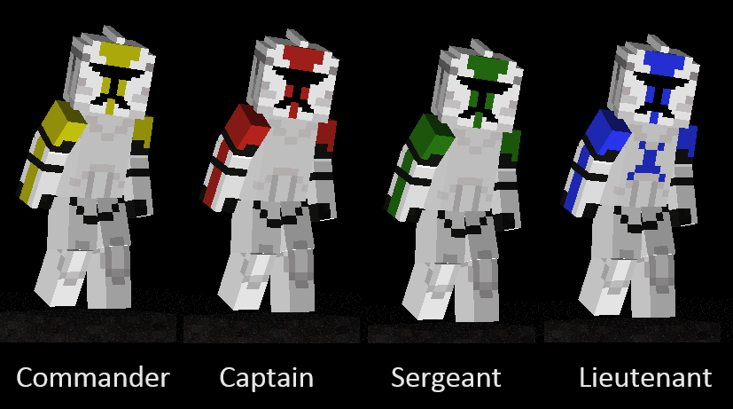 Clone Trooper Armor Color Comparison By Gojimannn On Deviantart