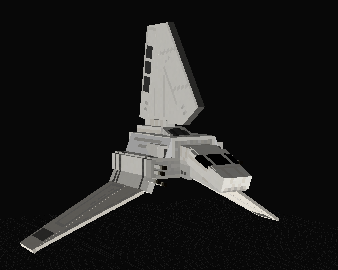 Lambada-class imperial shuttle by gojimannn