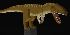 Jurassicraft Style Charcarodontosaurus V2