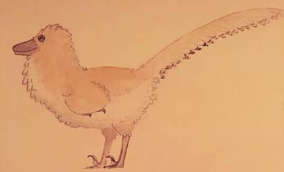 Happy raptor