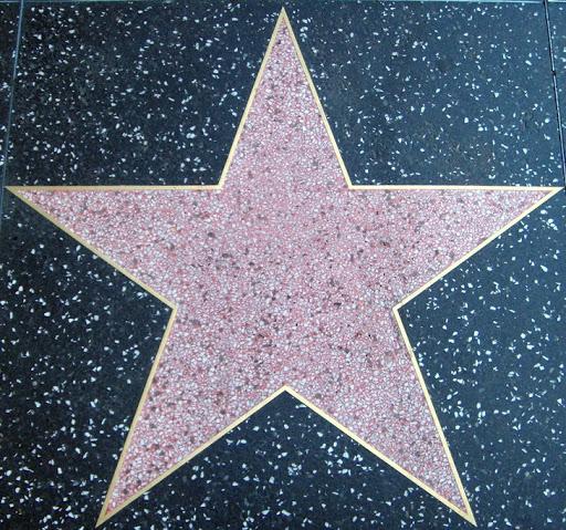 Empty Hollywood star #1