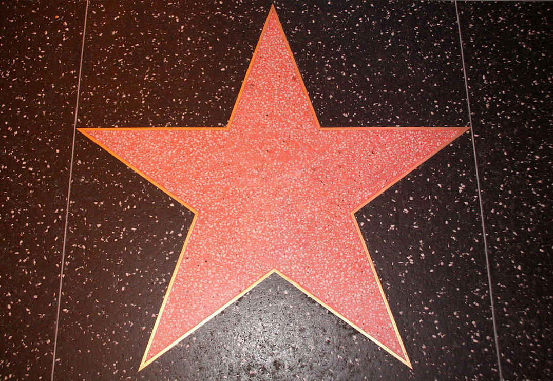 Empty Hollywood star #2 by SucXceS on DeviantArt