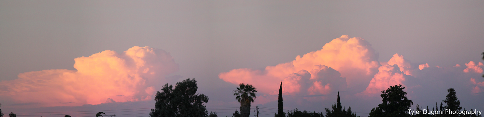 Sky Lit Cloud Panorama by Tjdyo