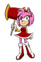 Quick Sketch Amy by Namrii