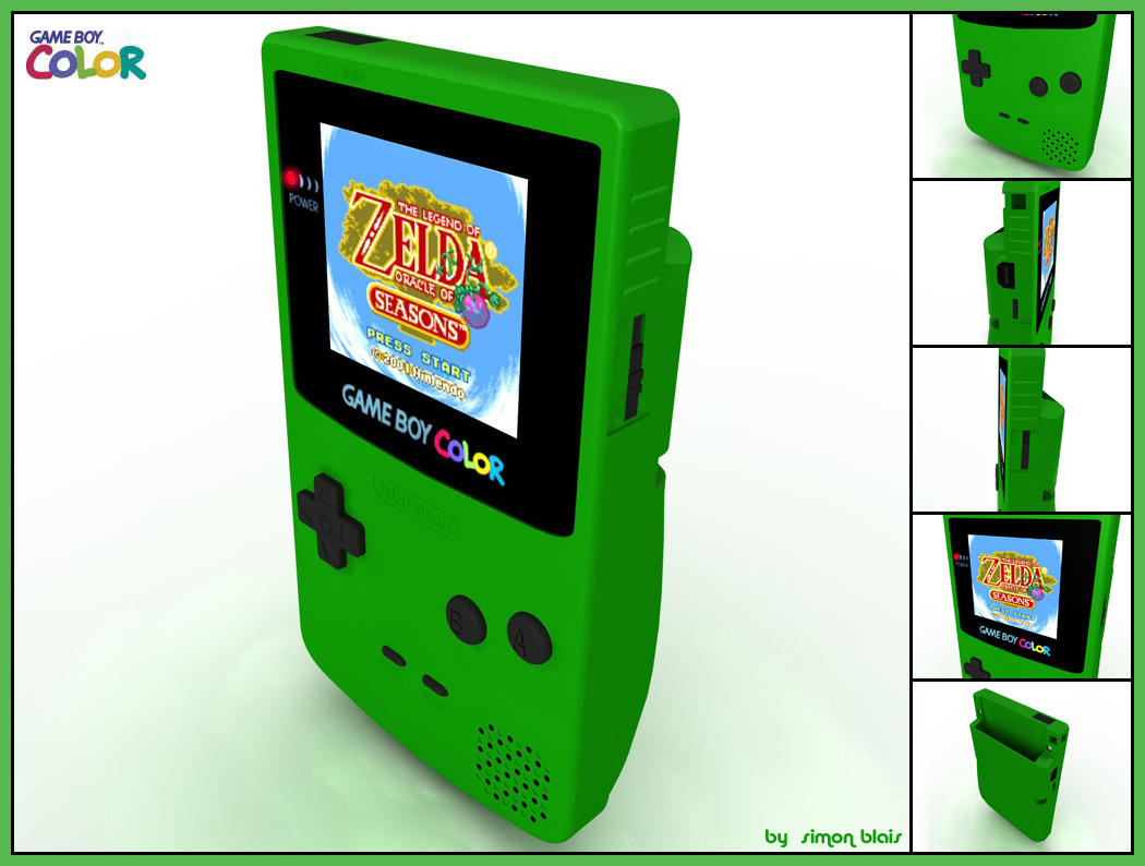 game boy color by pengwind on deviantart