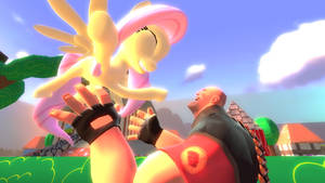 Heavy and Fluttershy