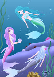 Mermaids by SisArty87