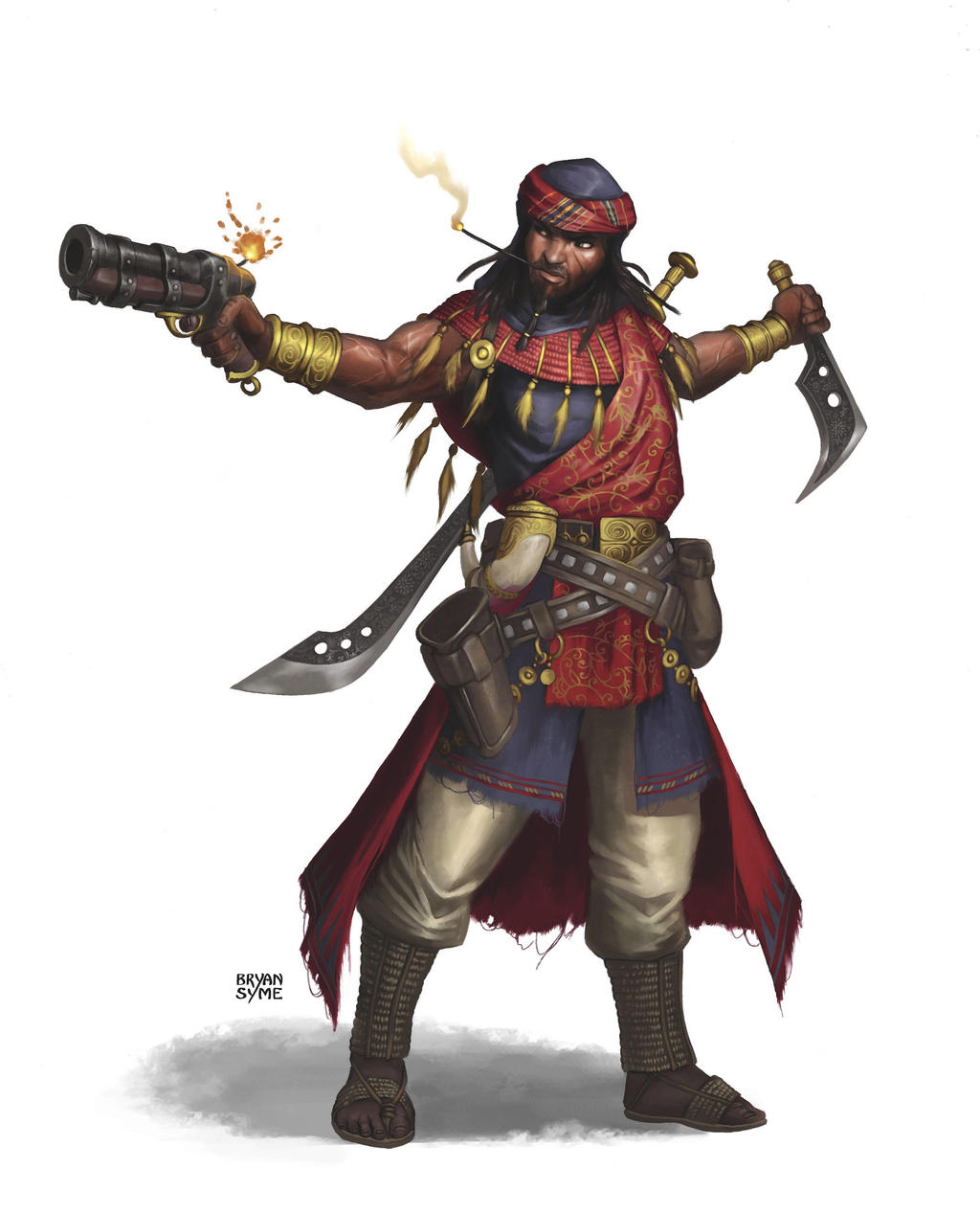 Character Design History : Omari ket by bryansyme on deviantart