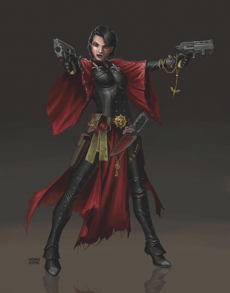 Sister Lizabeth by BryanSyme