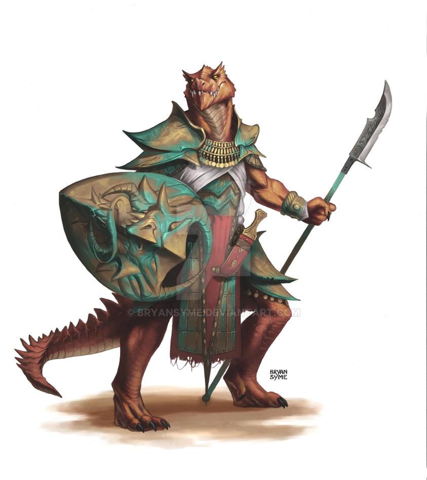 Dragon warrior by BryanSyme