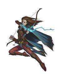 Mystic Archer by BryanSyme