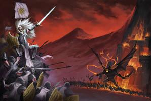 Demon Battle by BryanSyme