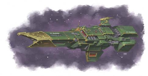 Knight-Class Battleship