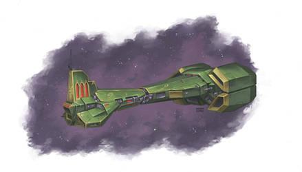 The Sentenium Rook-Class Destroyer