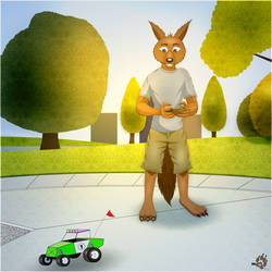 RC Fun in the Park by WolleWolf95