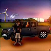Wolle and his Ford Ranger