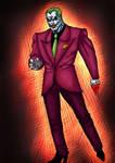 The Joker in colour Batman Re-Image Wave 3