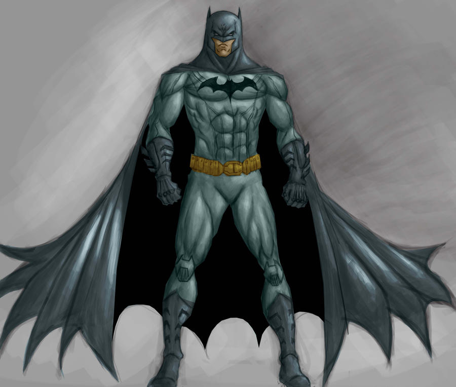 batman digital sketch colour by dushans - Batman Pictures To Colour