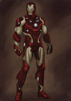 iron man by dushans