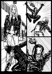 Liza Ray #2 page13 ink by dushans