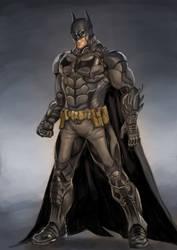 Batman Arkham Knight by dushans