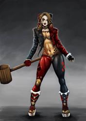 Harley Quinn v3 by dushans