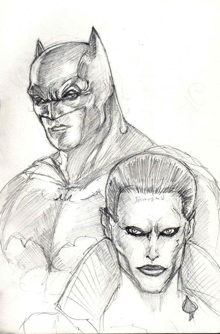 Batman and Joker by dushans