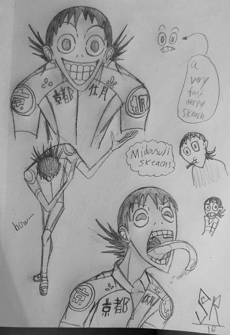 Midousuji sketches #5 by 1Icec1