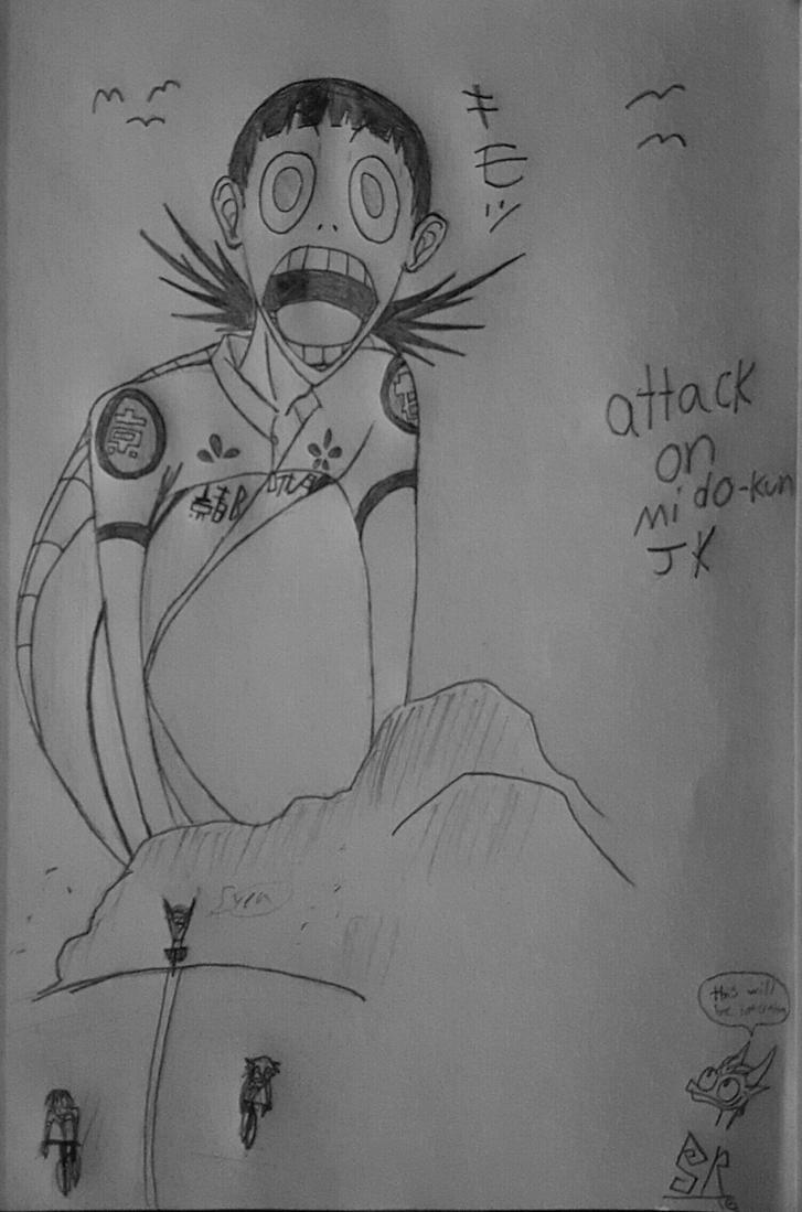 Attack on mido-kun JK by 1Icec1