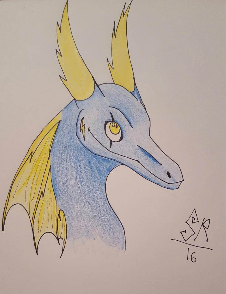 Nafera (head profile) by 1Icec1