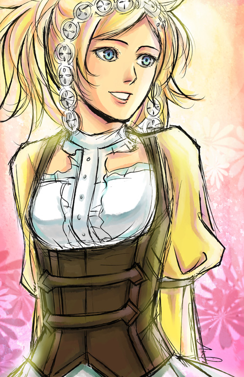 FE Awakening Countdown 13 Days: Lissa by snowp