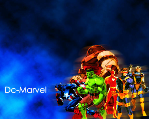 marvel dc wallpaper by - photo #1
