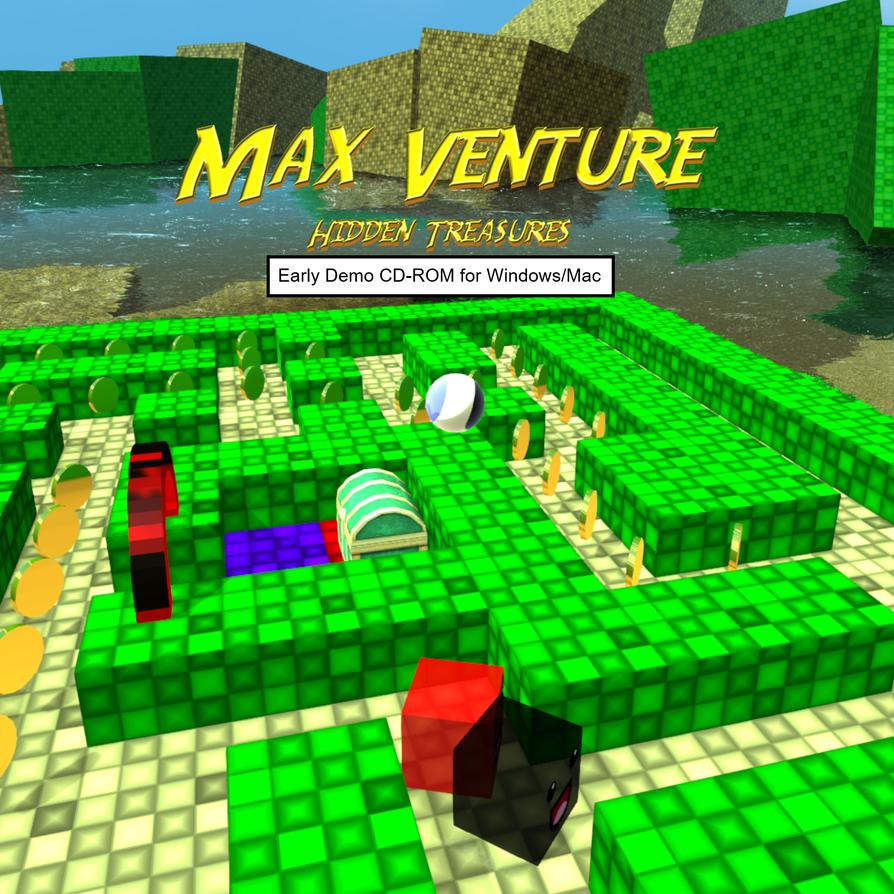 Max Venture Demo CD Label by Enjoycake