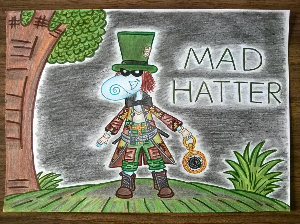 Mad Hatter As A Teensy by Zonoya717