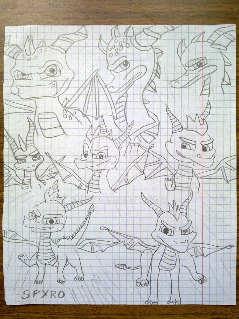 Spyro Game Series by Zonoya717