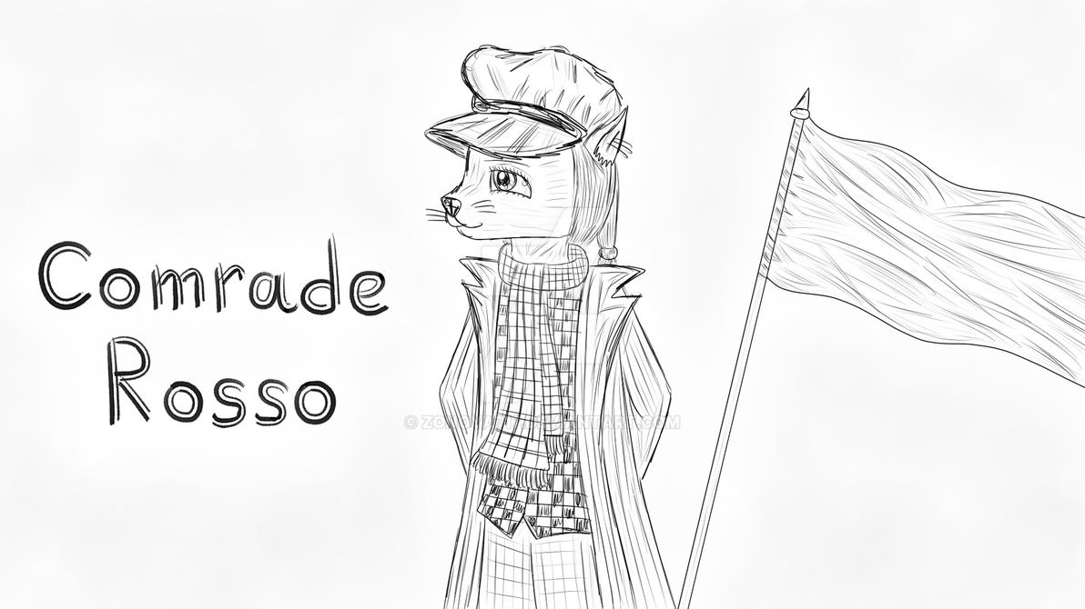 Comrade Rosso by Zonoya717