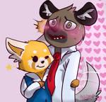 Retsuko and Haida